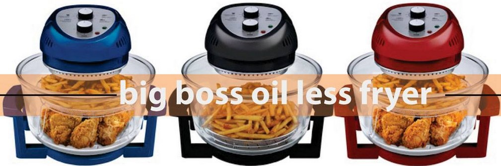 Big Boss 9063 Oil-Less Fryer Color Options