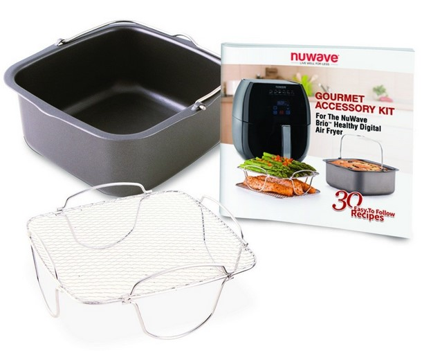 Nu Wave 33201 Deluxe Air Fryer Accessories
